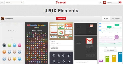 Best UIUX Pinterest Boards Must Follow-29