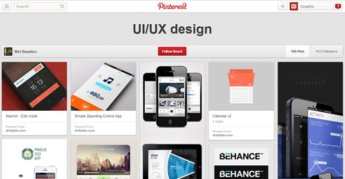 Best UIUX Pinterest Boards Must Follow-3