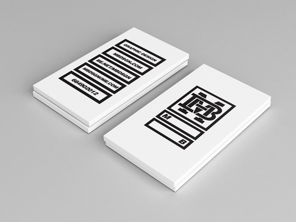 Black and white business cards design 50 inspiring examples black and white business cards design reheart