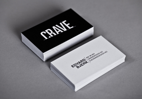 Black and white business cards design 50 inspiring examples black and white business cards design fbccfo Choice Image