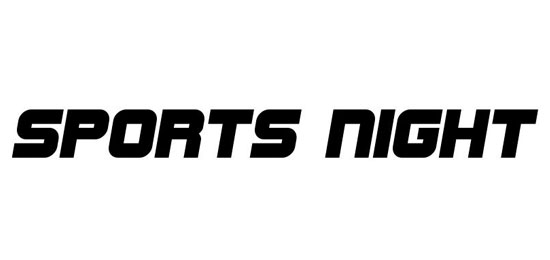 Sports Night Fonts