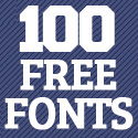 Post Thumbnail of 100 Professional Free Fonts For Designers
