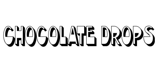 Chocolate Drops Fonts