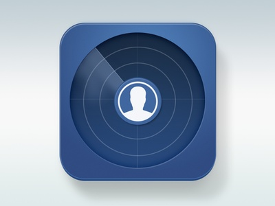 Facebook Radar Icon