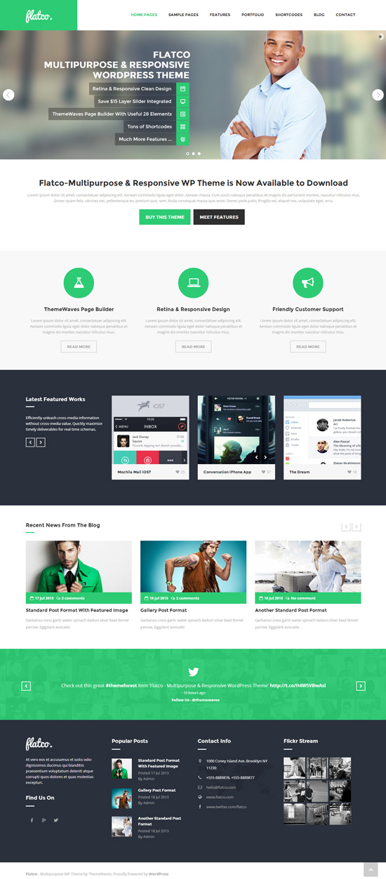Flatco - Multipurpose Responsive WordPress Theme