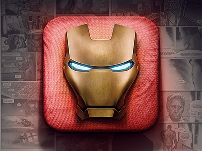 Iron Man iOS Icon
