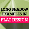 Post thumbnail of Long Shadow in Flat Design: 50 Beautiful Examples