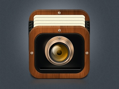 Old Camera iOS App Icon