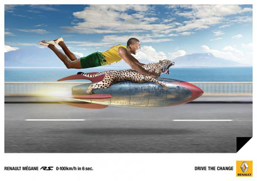 Renault: Cheetah Advertising Poster-35