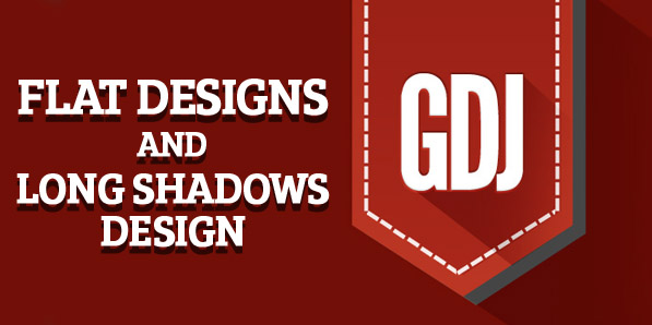 Flat Designs and Long Shadows Design