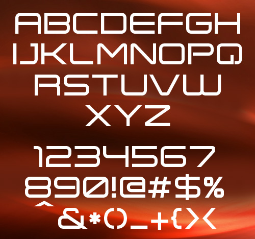 Expansiva free fonts