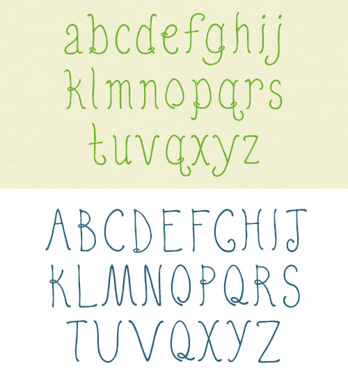 Quirky Nots free fonts
