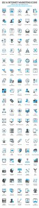 Free SEO icons and Internet Marketing icons