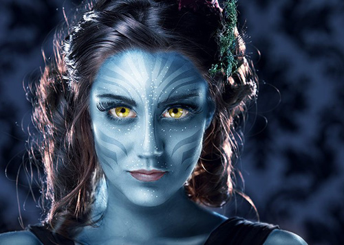 Avatar Na'vi – Photoshop CS6 Tutorial