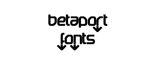 Betaport Free Font