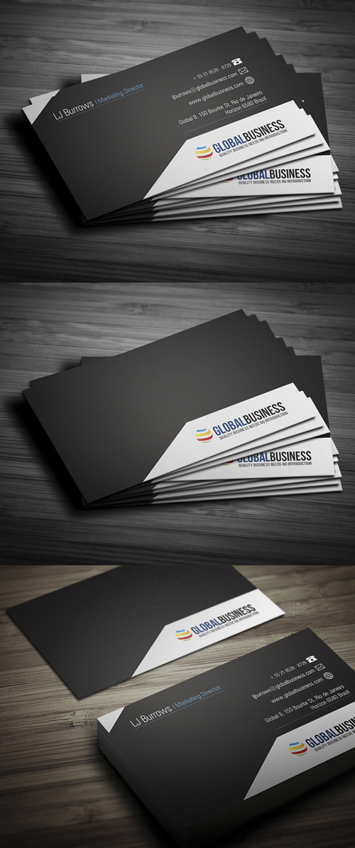 Modern business cards design graphic design junction business cards design 21 colourmoves