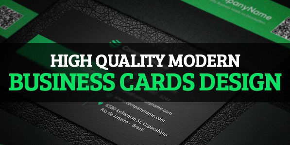 26 High Quality Modern Business Cards Design