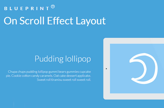 On Scroll Effect Layout: Beautiful Scroll Effects