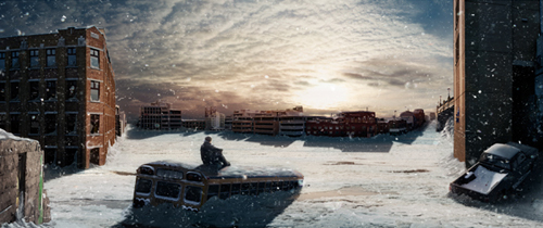 Create a Post Apocalyptic Panoramic Matte Painting