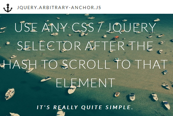 Smooth Scrolling For Any Element On Page With jQuery