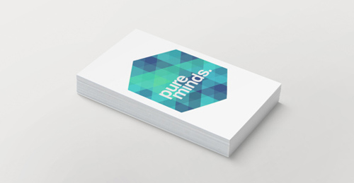 Pure Minds Business card