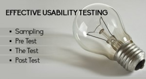 Effective usability testing tips