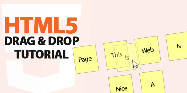 How to Create a Simple Drag and Drop Component Using HTML5