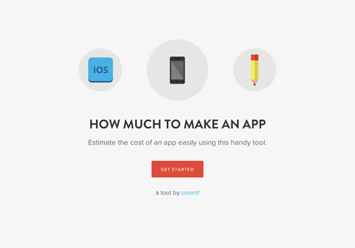 How Much To Make An App One Page Website Design