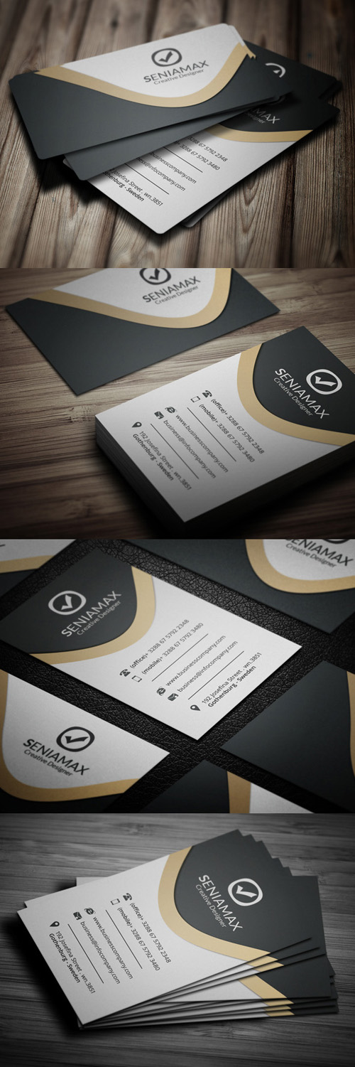 Creative Business Company Card