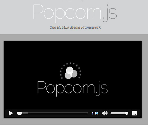 Popcorn.js - A Framework for HTML5 Video