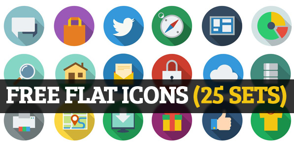 free flat icons sets for ui design
