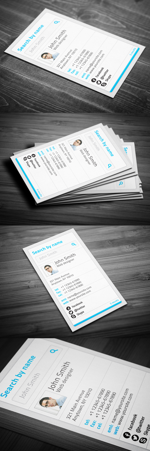 29 High Quality Creative Unique Business Cards Design