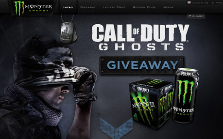 Monster Energy / COD Ghosts