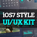 Post Thumbnail of Free iOS7 style UI/UX Kit for Designers