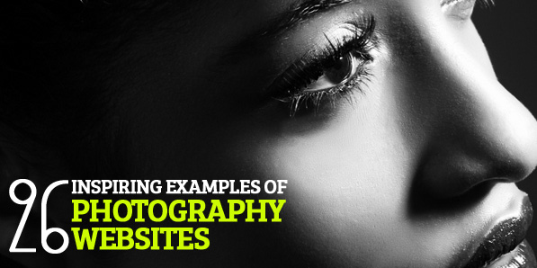 26 Inspiring Examples of Photography Websites