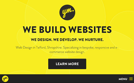 Responsive Website Design Yellow Marshmallow