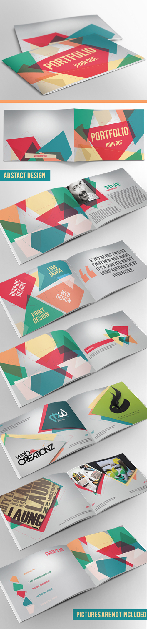 Business Portfolio Brochure Template