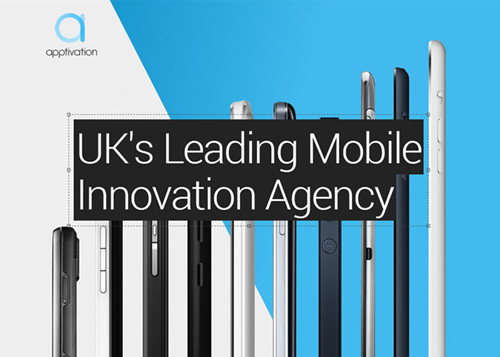 Apptivation Mobile Ltd web and graphic design agency website