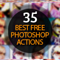 Post thumbnail of 35 of the Best Free Photoshop Actions