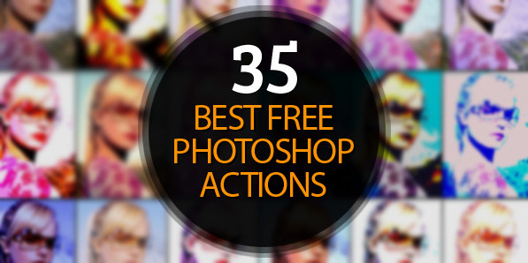 Best Free Photoshop Actions | Resources | Graphic Design Junction