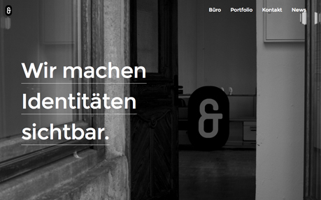 Betty und Betty Designbüro web and graphic design agency website