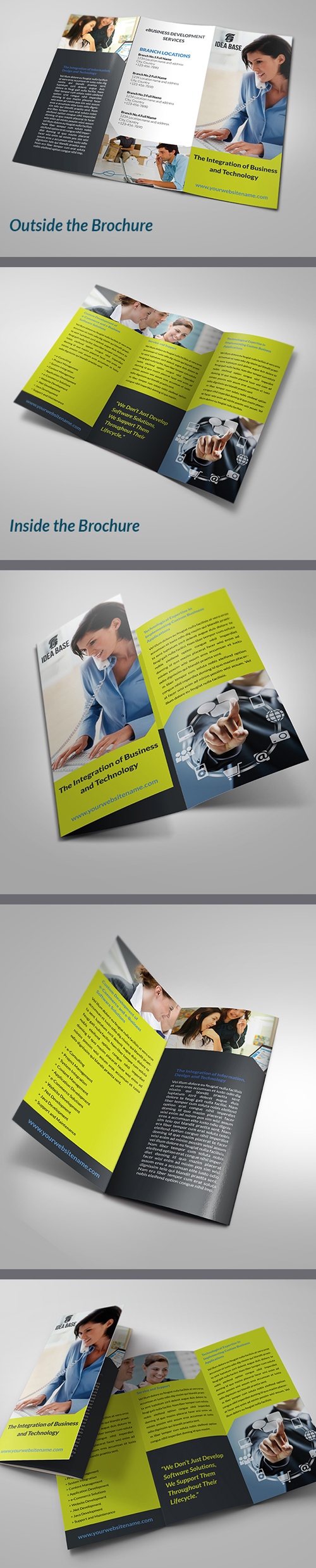 Technology Business Tri-Fold Brochure