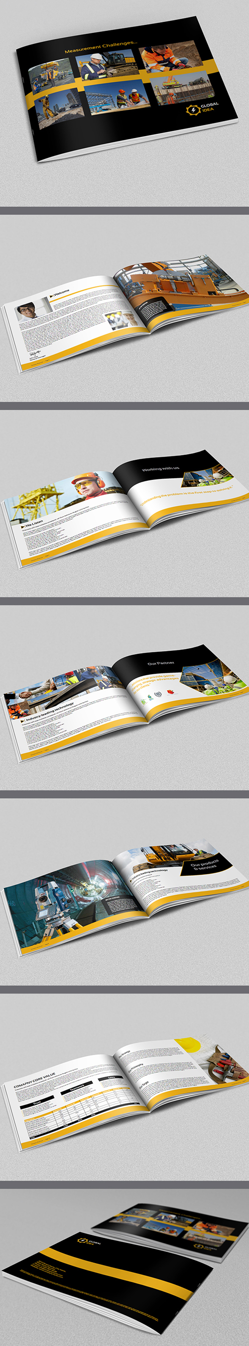 Corporate Brochure Design Templates Design Graphic Design Junction - Brochure template ideas