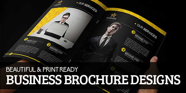 15 Beautiful Print Ready Business Brochure Designs