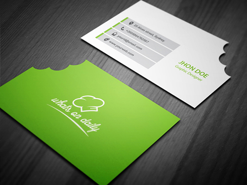 Stylish Business Cards Design