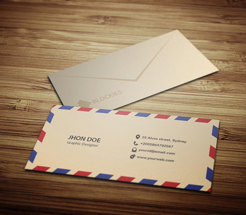 Mail Business Card