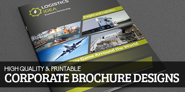 16 Corporate Printable Brochure Designs