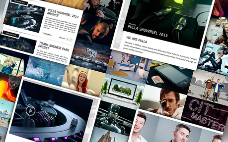 Pulla web and graphic design agency website