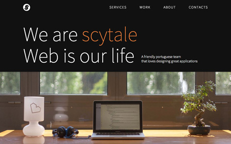Scytale web and graphic design agency website