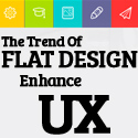 Post Thumbnail of The Trend of Flat Design to Enhance UX